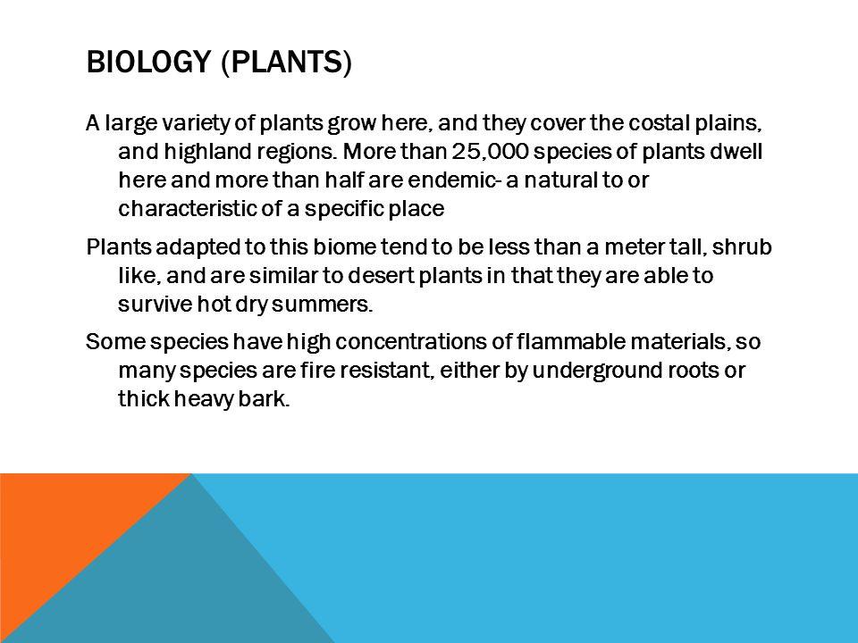 Biology (plants)