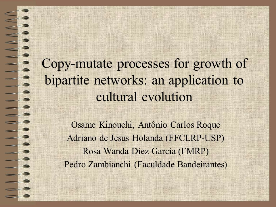 Copy-mutate processes for growth of bipartite networks: an application to cultural evolution