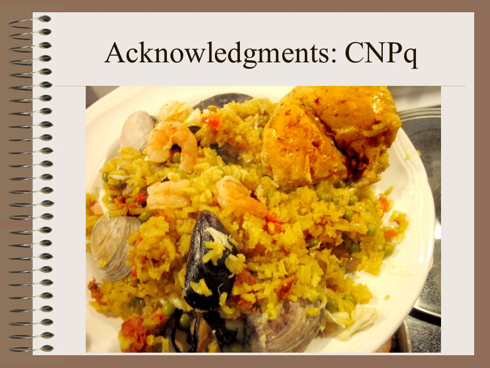 Acknowledgments: CNPq