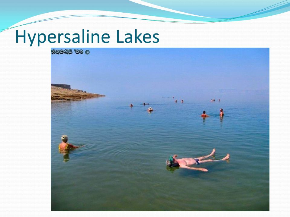 Hypersaline Lakes