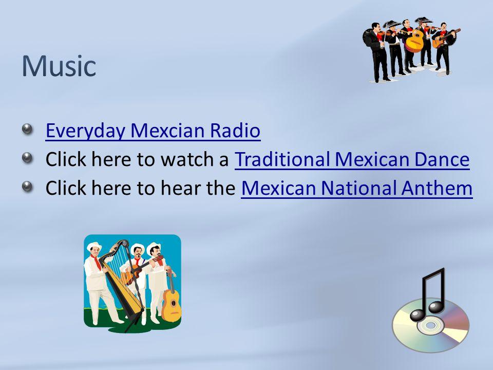 Music Everyday Mexcian Radio