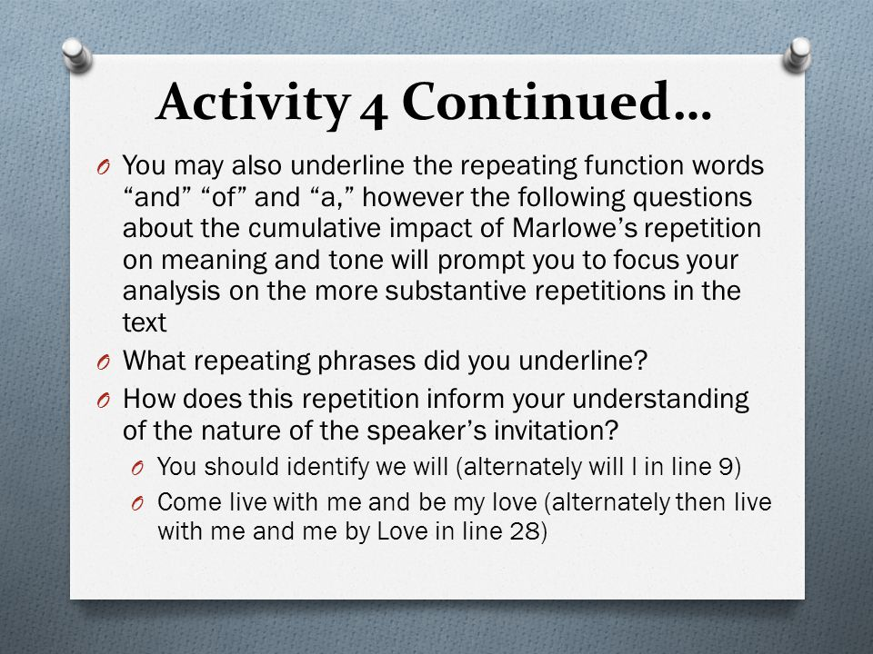 Activity 4 Continued…