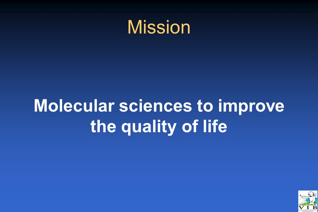 Molecular sciences to improve the quality of life