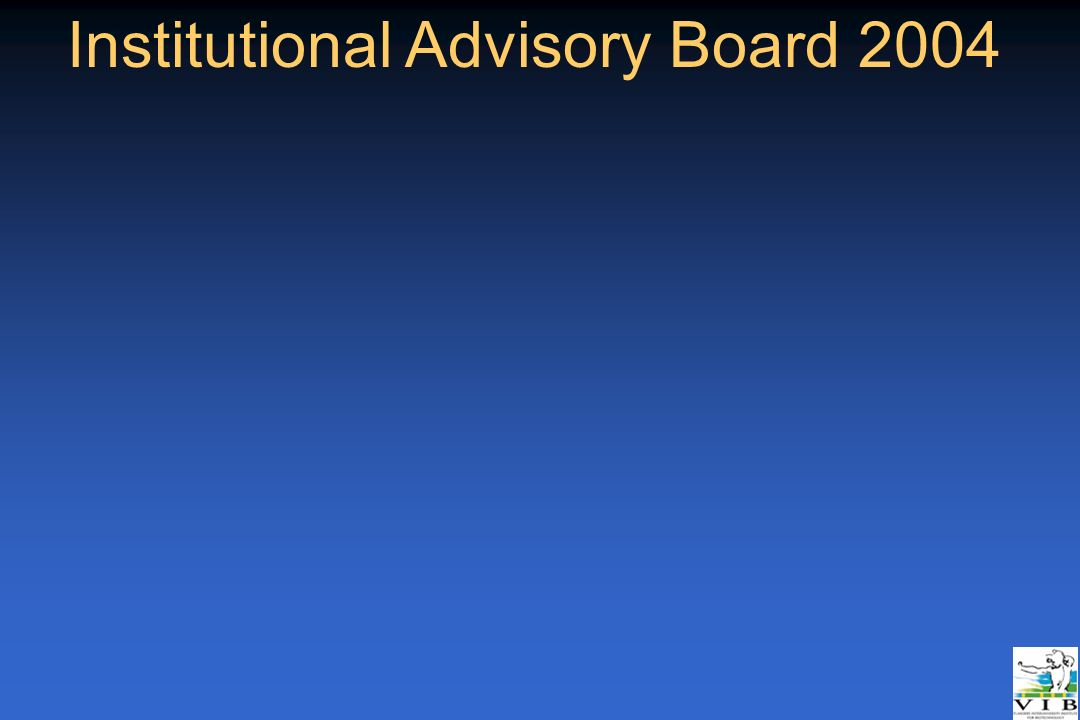 Institutional Advisory Board 2004