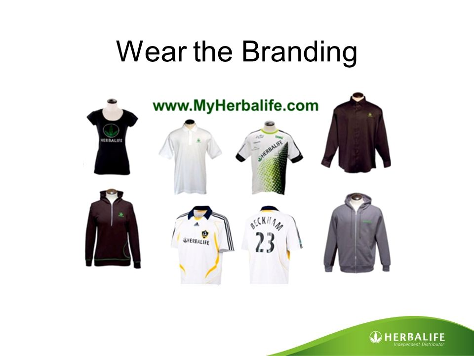 Wear the Branding