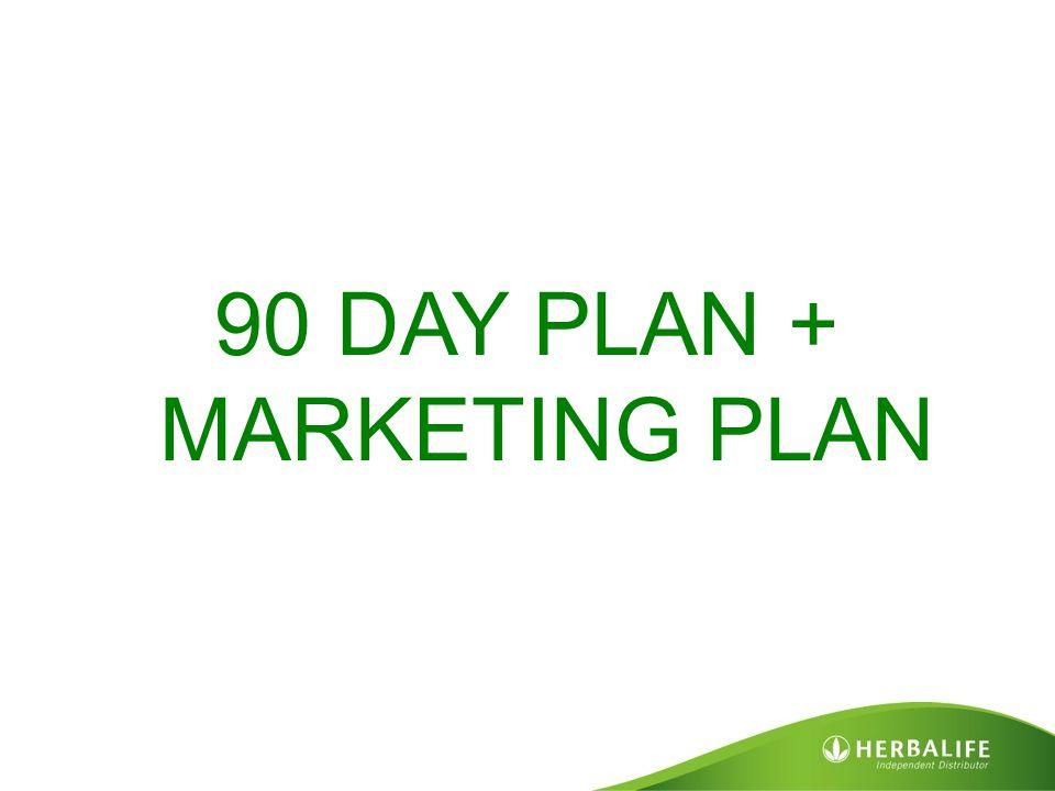 90 DAY PLAN + MARKETING PLAN