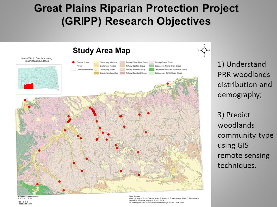Great Plains Riparian Protection Project (GRIPP) Research Objectives