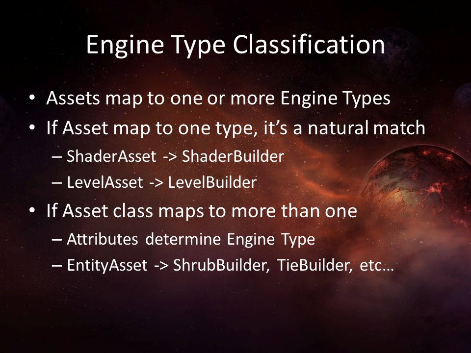 Engine Type Classification