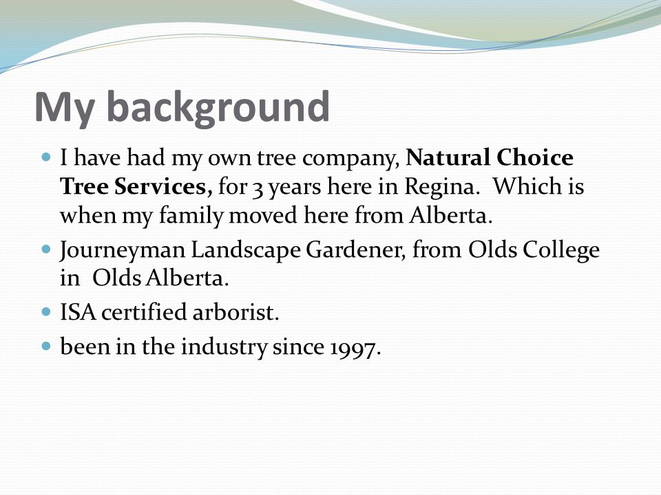 Landscape Gardener Job Description Basics of tree pruning right tools for the job ppt video online 3 my background workwithnaturefo