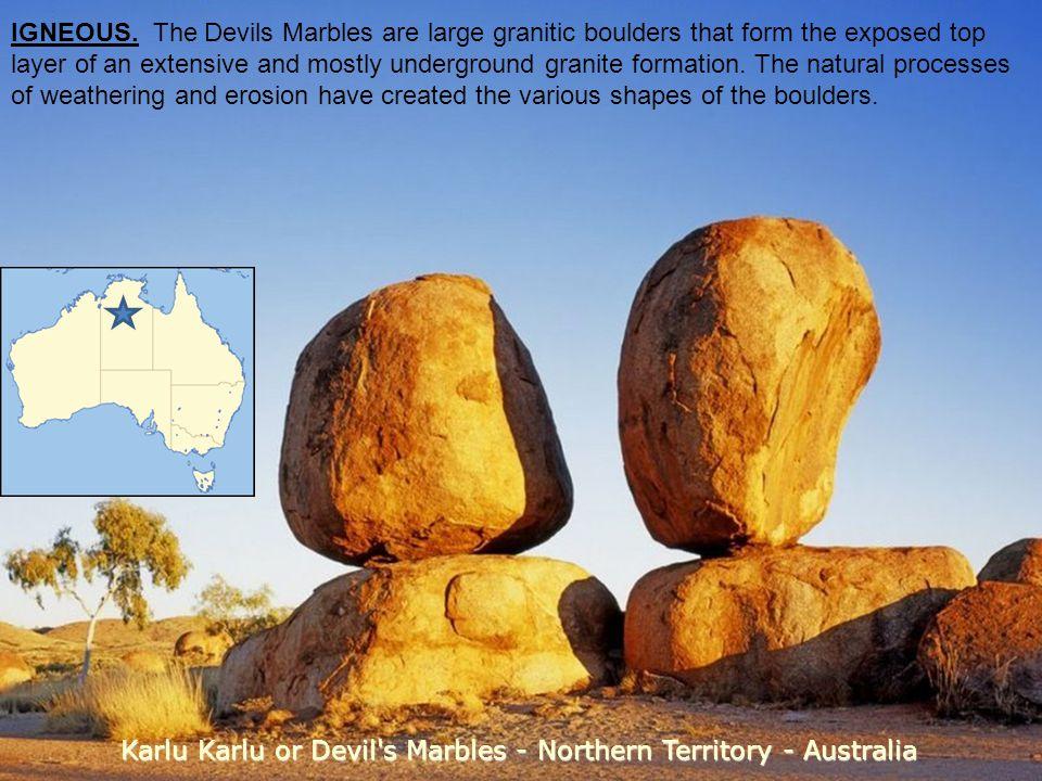 Karlu Karlu or Devil s Marbles - Northern Territory - Australia