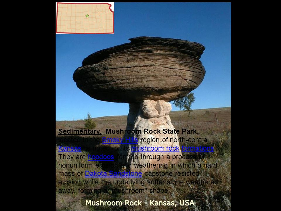 Mushroom Rock - Kansas, USA