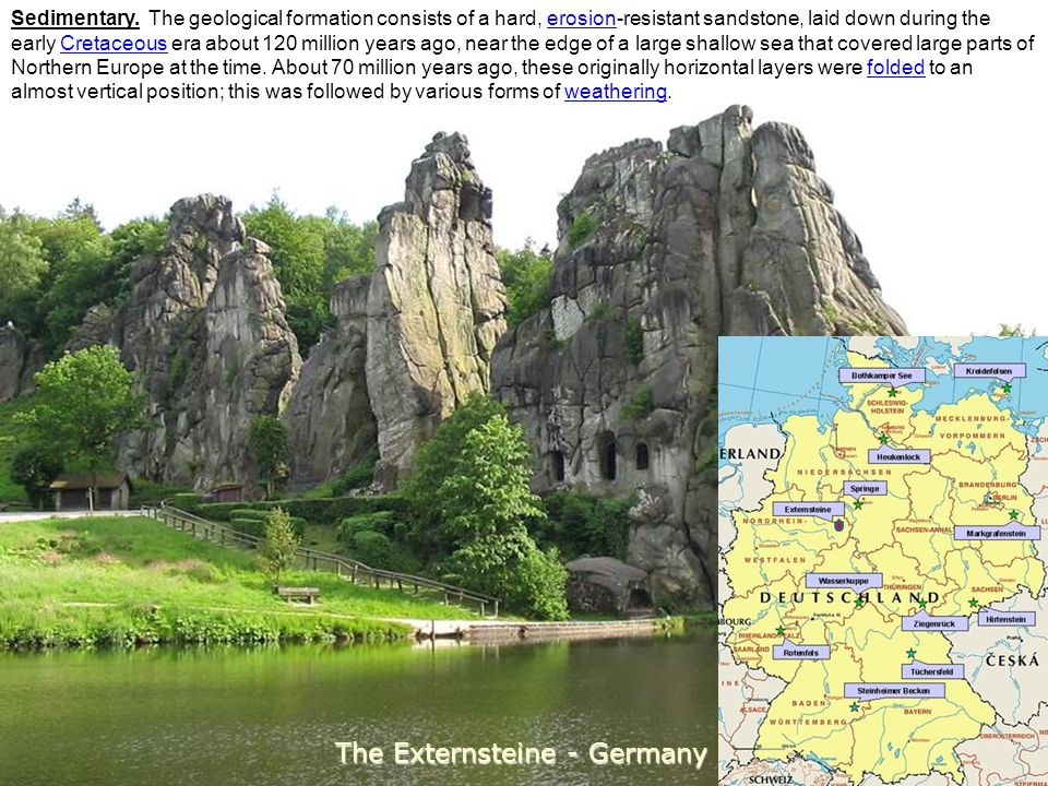 The Externsteine - Germany