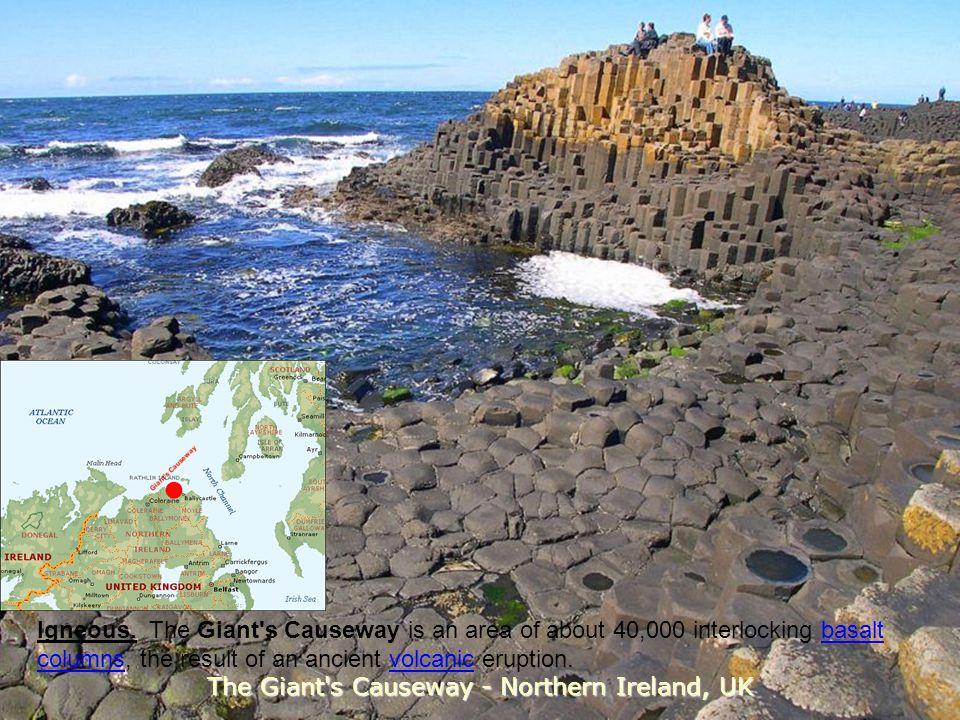 The Giant s Causeway - Northern Ireland, UK
