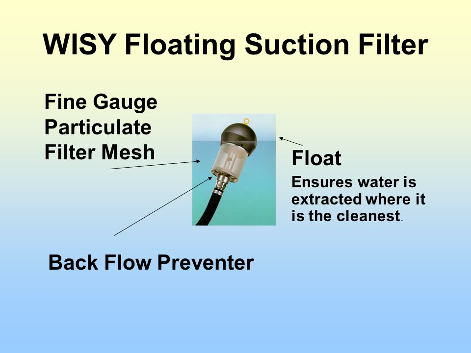 WISY Floating Suction Filter