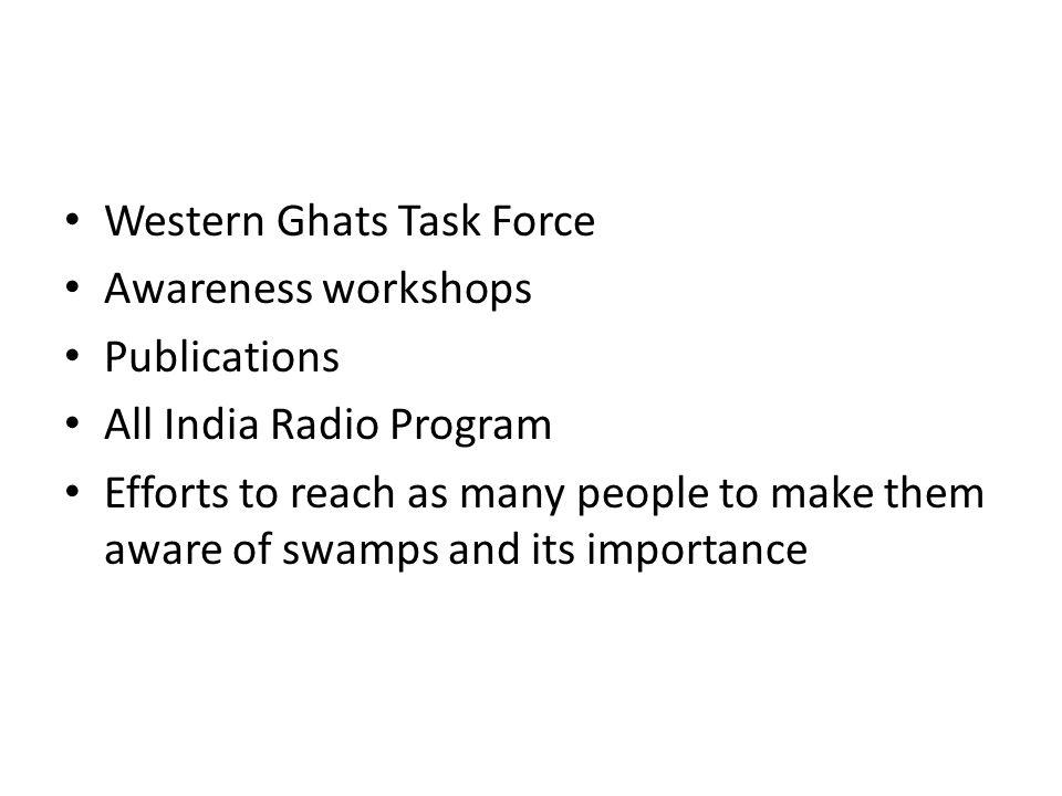 Western Ghats Task Force