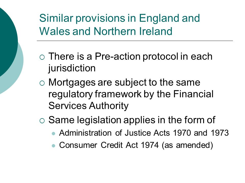 Similar provisions in England and Wales and Northern Ireland