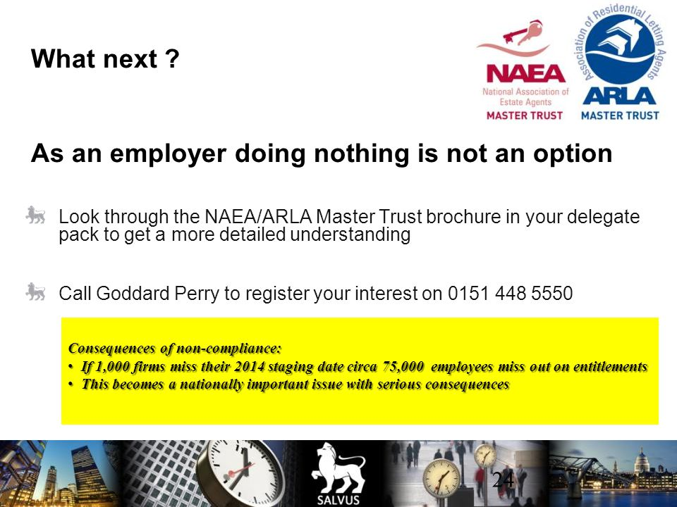 What next As an employer doing nothing is not an option
