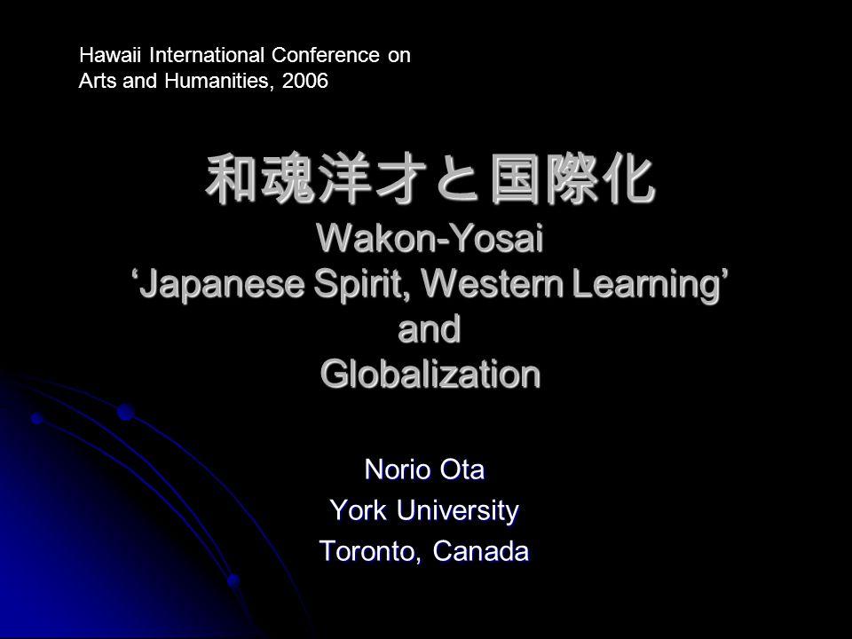 Norio Ota York University Toronto, Canada