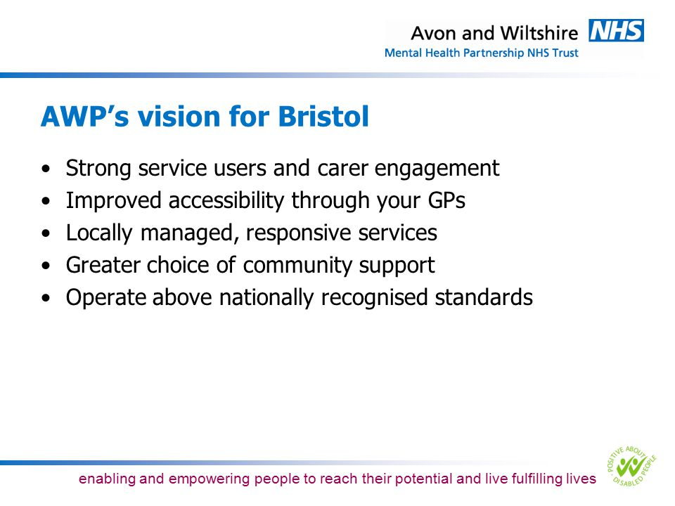 AWP's vision for Bristol