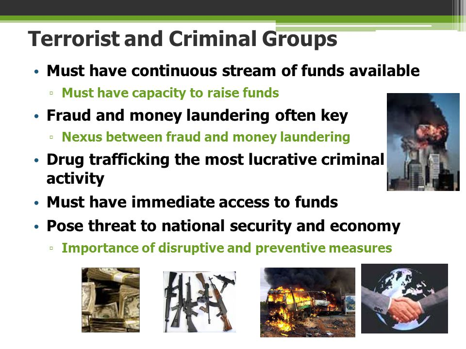 Terrorist and Criminal Groups