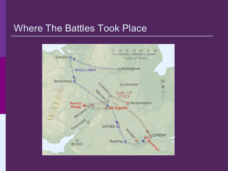 Where The Battles Took Place