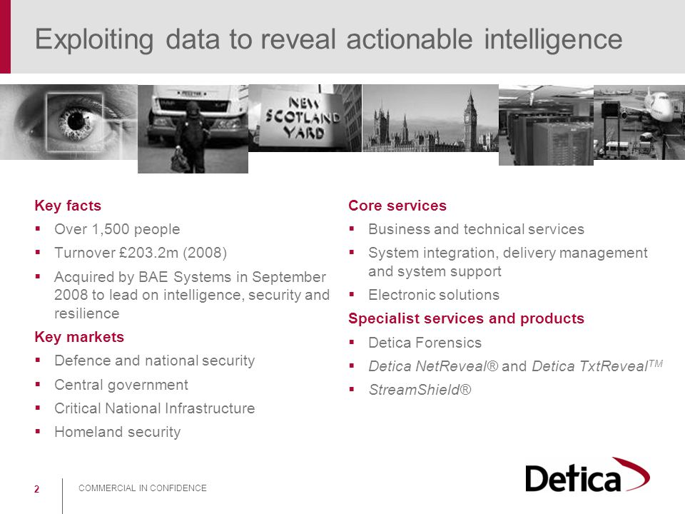 Exploiting data to reveal actionable intelligence