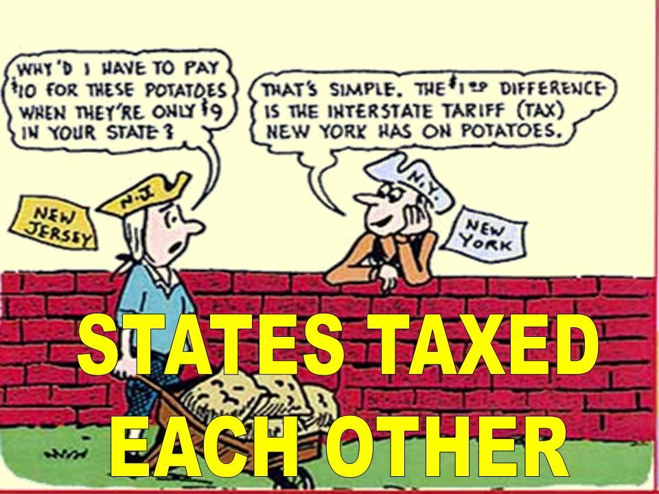 STATES TAXED EACH OTHER