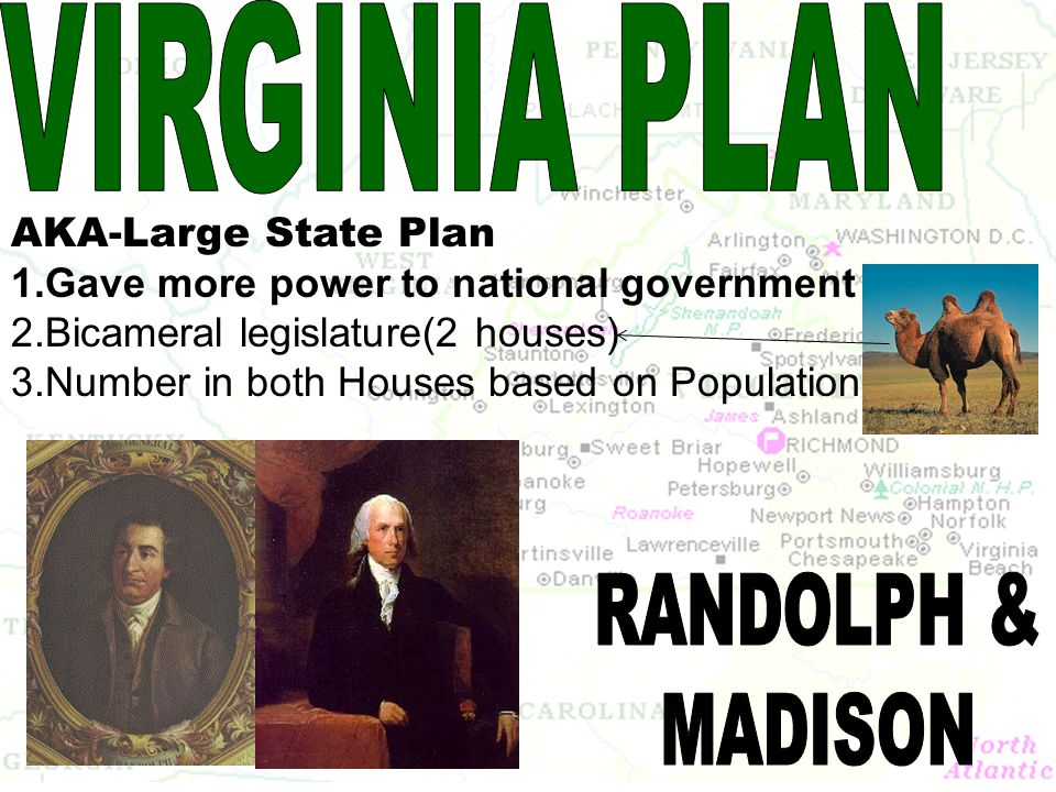 VIRGINIA PLAN RANDOLPH & MADISON AKA-Large State Plan