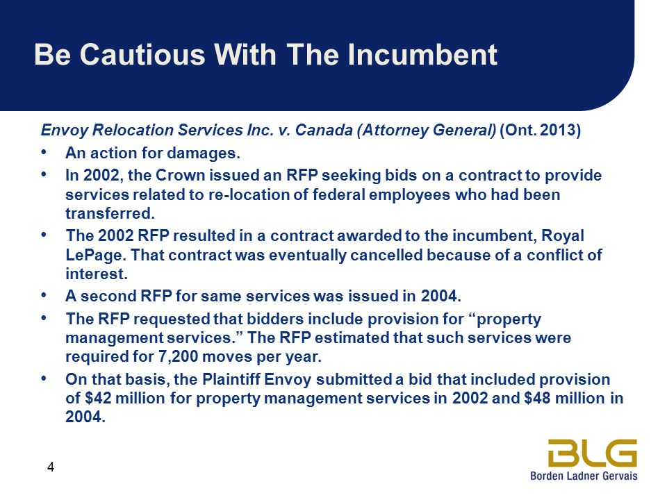 Be Cautious With The Incumbent