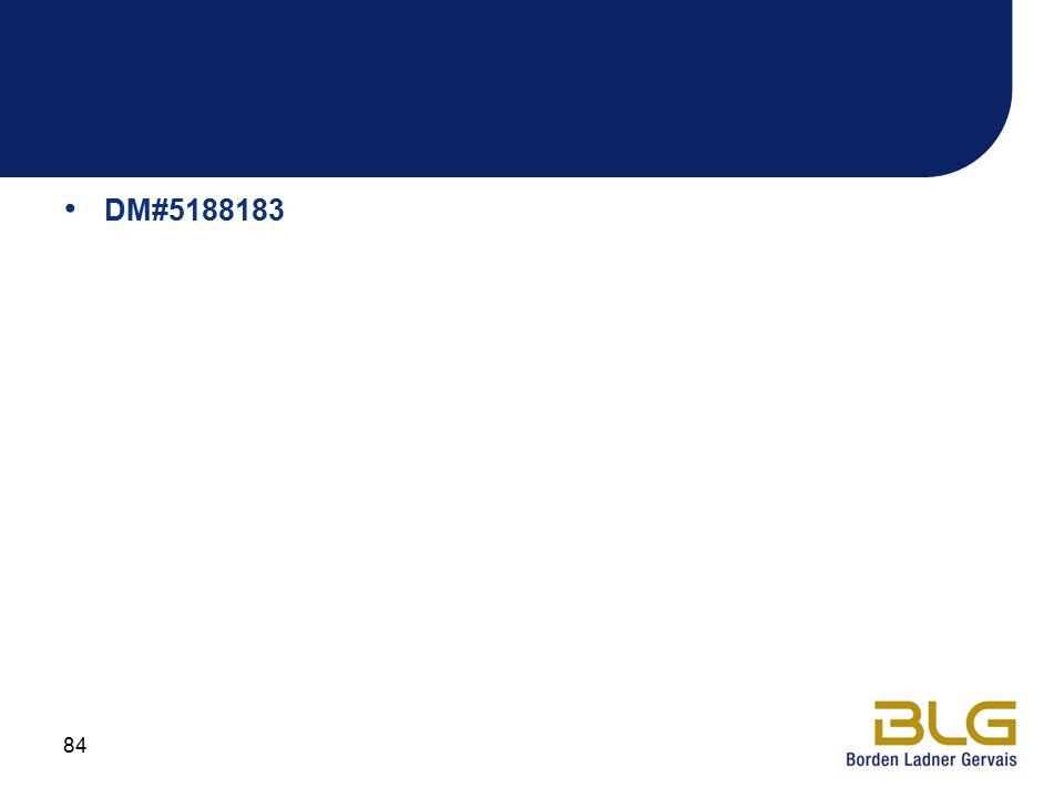 DM#5188183