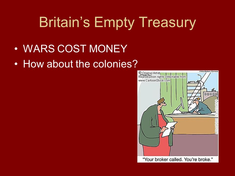 Britain's Empty Treasury