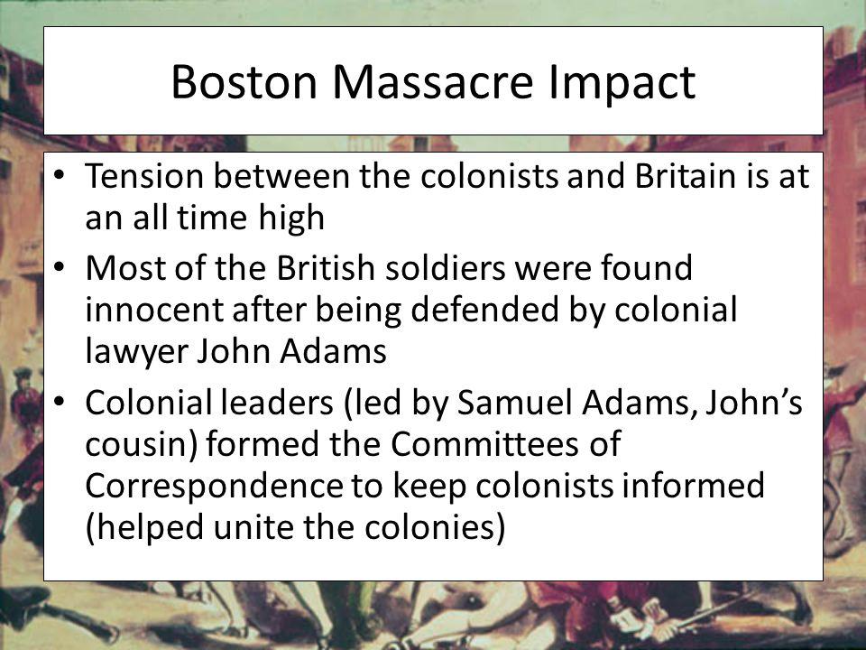 Boston Massacre Impact