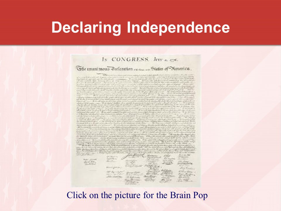 declaring independence Most americans in the summer of 1776 learned the news of independence  through newspapers, as well as broadsides and public readings the first report  of.