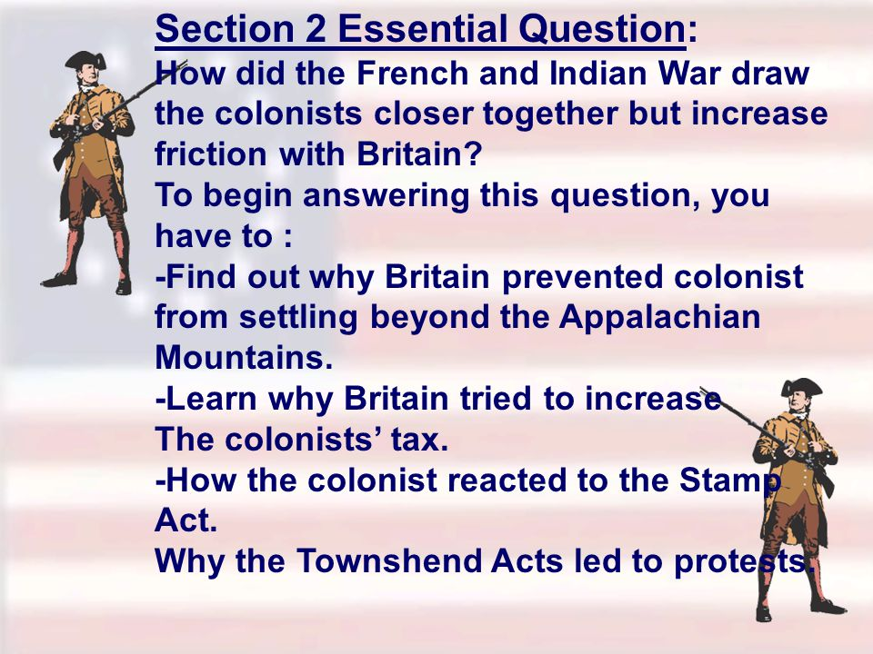 Section 2 Essential Question:
