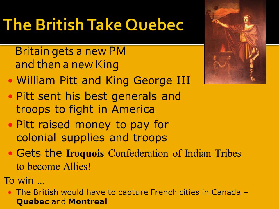 The British Take Quebec