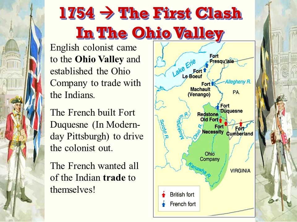1754  The First Clash In The Ohio Valley