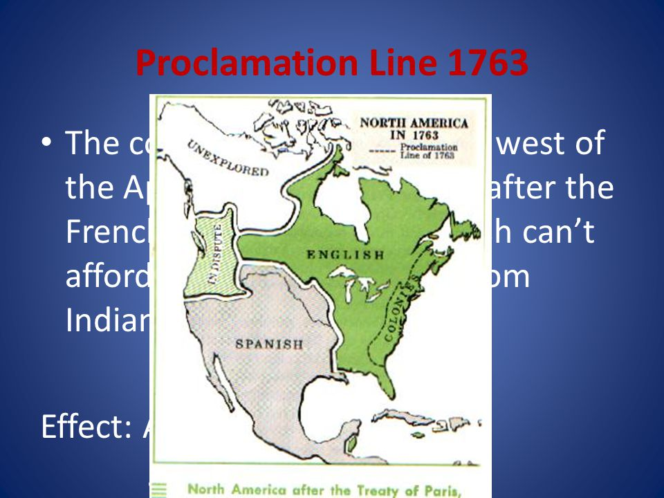 Proclamation Line 1763