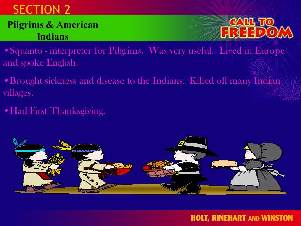 Pilgrims & American Indians