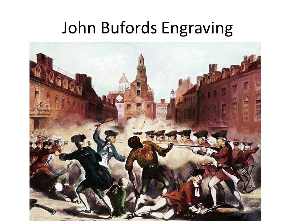 John Bufords Engraving