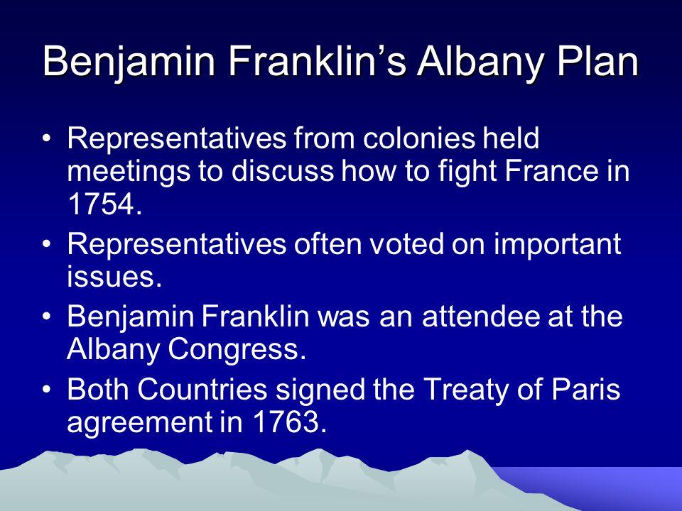 Benjamin Franklin's Albany Plan