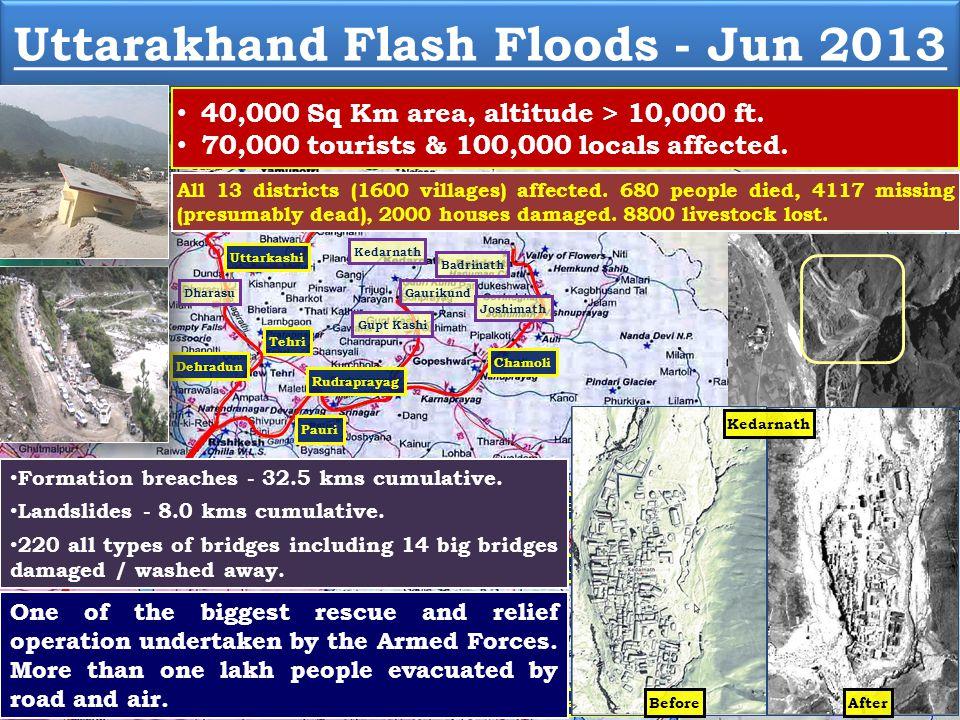 Uttarakhand Flash Floods - Jun 2013