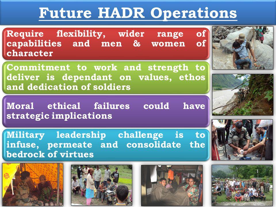 Future HADR Operations