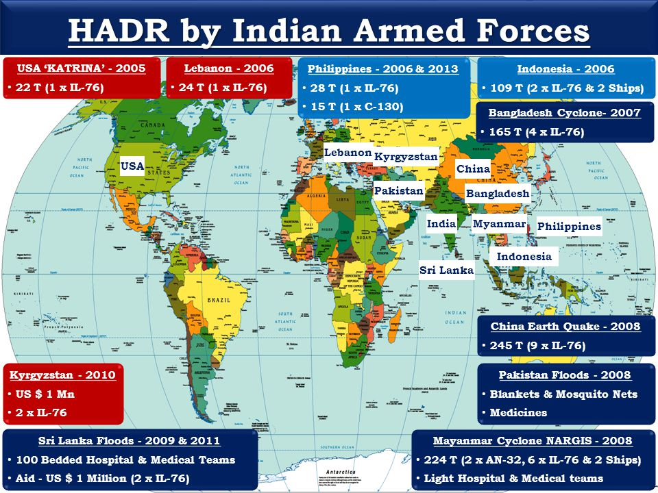 HADR by Indian Armed Forces Mayanmar Cyclone NARGIS - 2008