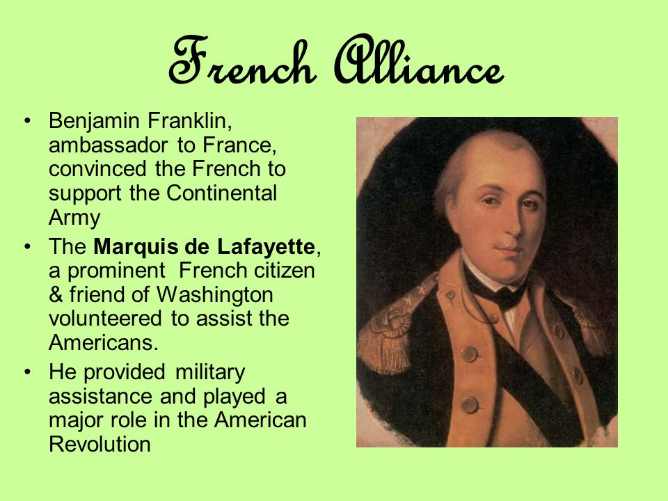 Image result for france's de lafayette makes his name in the american revolution