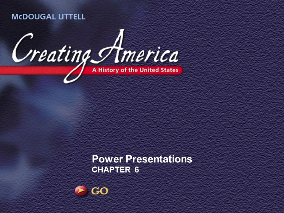 Power Presentations CHAPTER 6