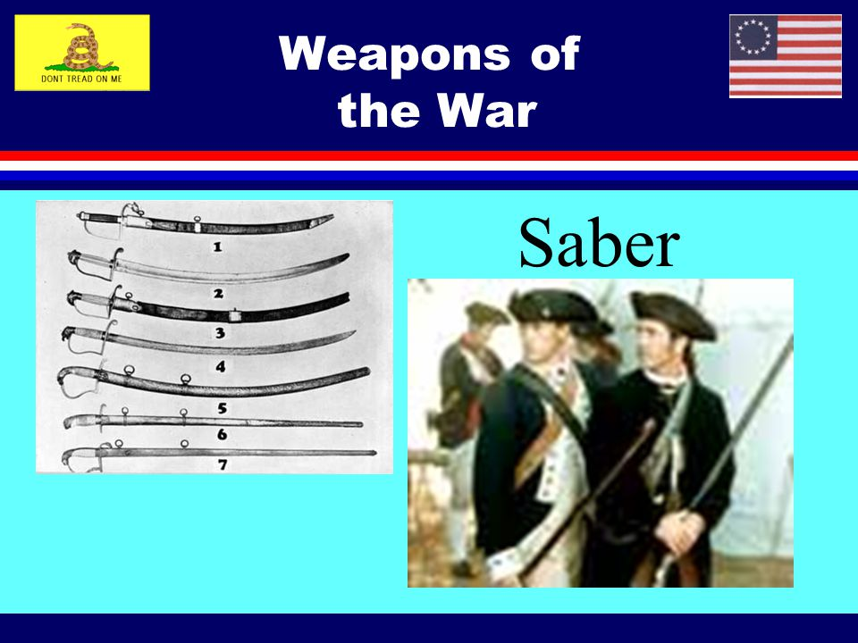 Saber Weapons of the War