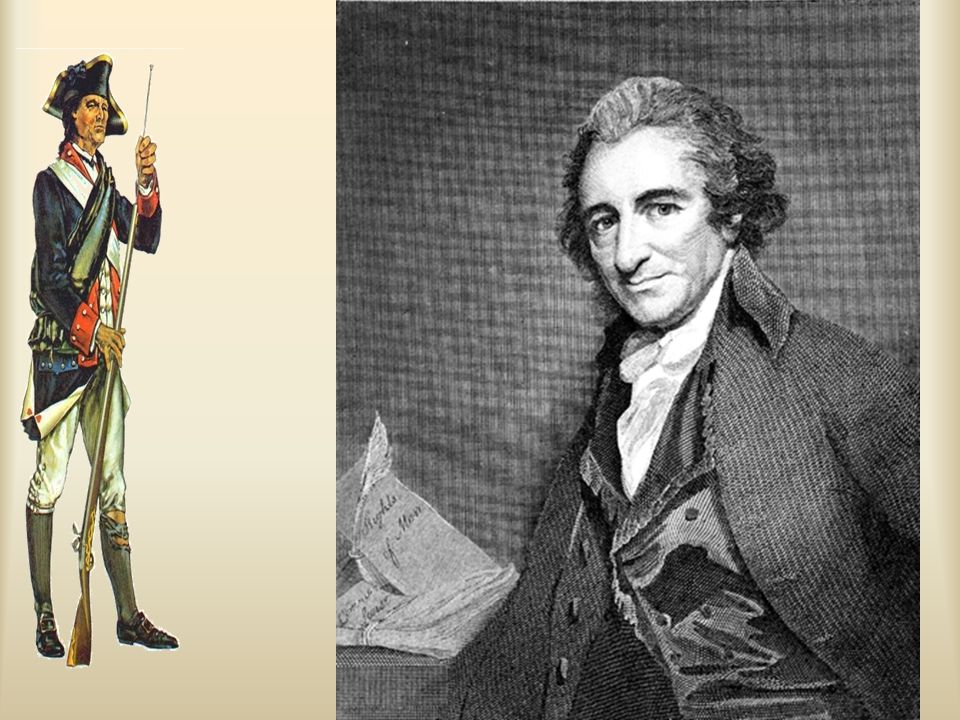 Ch. 5, Image 12 Thomas Paine, advocate of American independence.