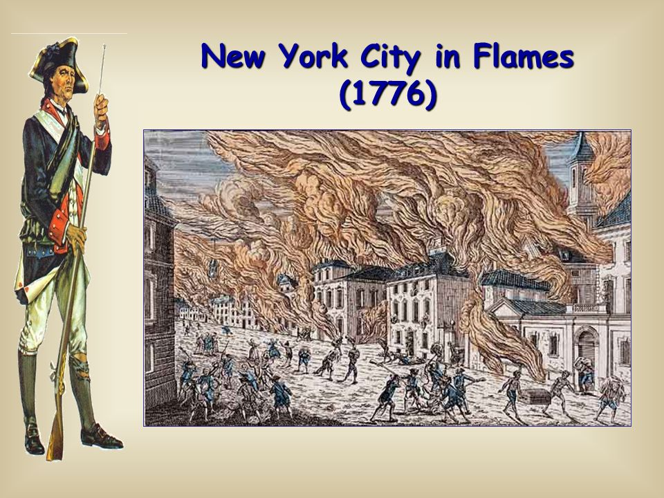 New York City in Flames (1776)