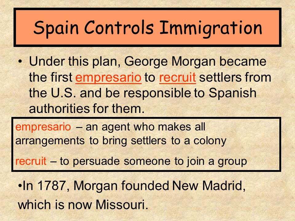 Spain Controls Immigration