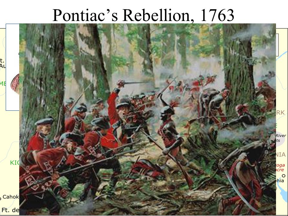 Pontiac's Rebellion, 1763